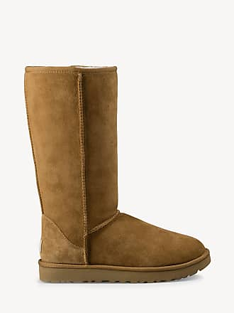UGG Womens Classic Tall Ii Suede Boots Chestnut Size 11 From Sole Society