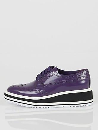 Prada 4 cm Derby Shoes with Platform Größe 35 0972df2621d