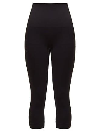 Falke Shape Cropped Performance Leggings - Womens - Black
