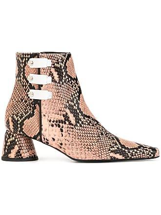 Ellery Ankle boot com padronagem de cobra - Neutro