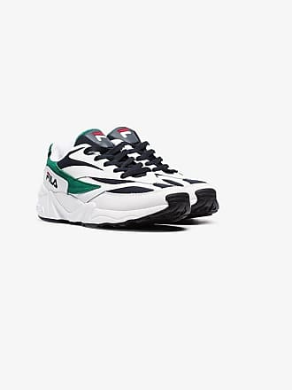 Fila White Venom chunky leather low top sneakers