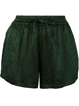 Onia chevron print Aleen shorts - Green