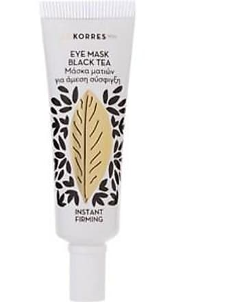 Korres Cleansing Weekly Black Tea Instant Firming Eye Mask 6 ml