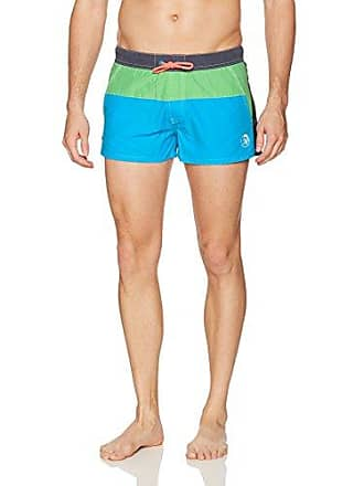 deb26d0e85 Diesel Mens Caybay Tiedye 12 Inch Swim Trunk, Teal, Large