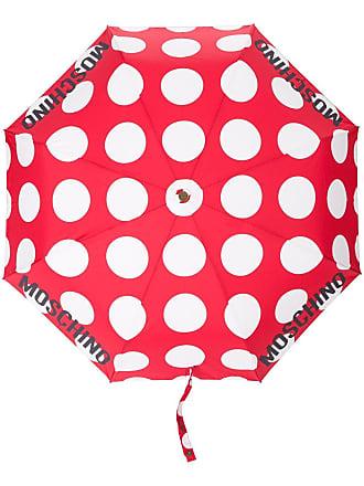 Moschino polka-dot umbrella - Red