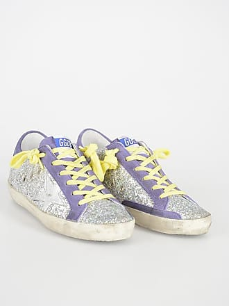 Golden Goose Glittered Sneakers size 35