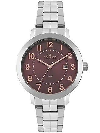 Technos Relógio Technos Feminino Ref: 2115mrw/1r Elegance Prata