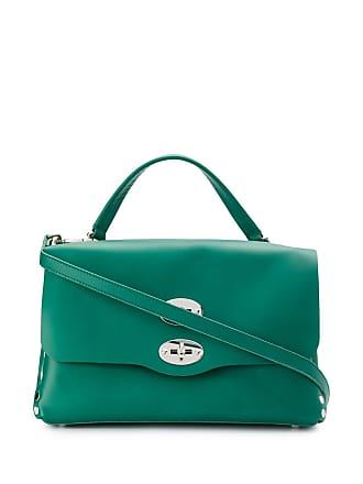 Zanellato small Postina tote bag - Green