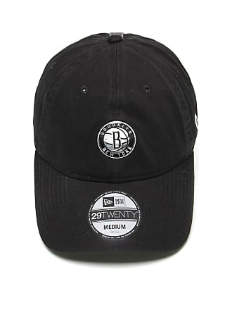 New Era Boné New Era Fitted 2920 Brooklyn Nets NBA 17 Preto