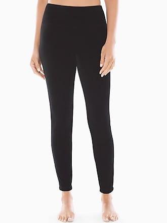 Soma Smoothing Velvet Leggings, Black, Size XXL