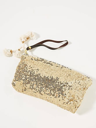 Jadetribe Sequin Wristlet Pouch