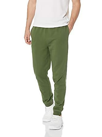 c3a59150d74534 Starter Mens Jogger Sweatpants with Pockets, Amazon Exclusive, Bronze Green  with Embroidered Logo,