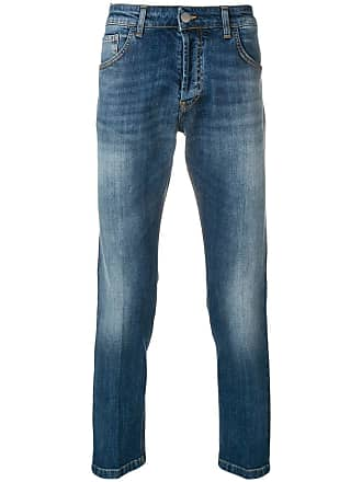 Entre Amis slim faded jeans - Azul