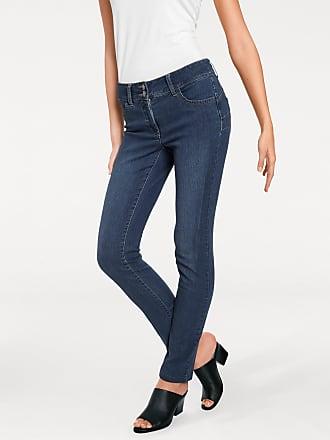 6037355b41a4 Heine Damen Jeans mit Bauch-weg-Funktion, blau, heine TIMELESS, Material