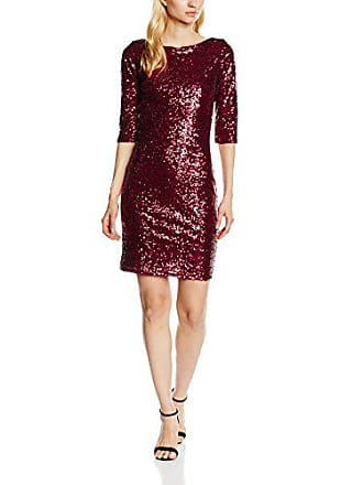 246a13b6bc8b Hot Squash HotSquash Sequin Dress, Vestito Donna, Rosso (Wine), 38 (