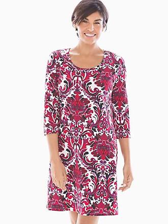 Soma Embraceable Sleepshirt Refined Damask, Size XS