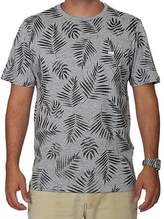 Wave Giant Camiseta Wg Especial Full Plants - Cinza - GG