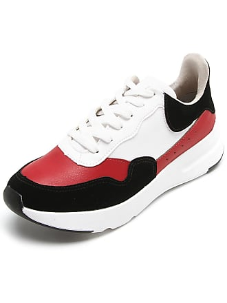 Via Marte Tênis Via Marte Dad Sneaker Chunky Vermelho/Branco