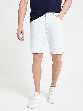 Wrangler Mens Wrangler light blue denim shorts