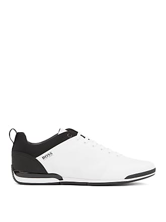 BOSS Hugo Boss Low-profile sneakers graphic texture 11 Open White