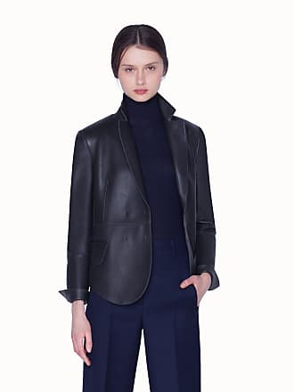 Akris Lamb Nappa Leather Jacket