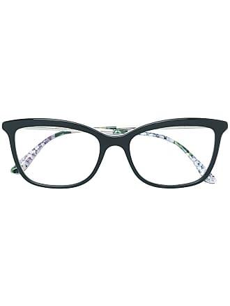 Dolce & Gabbana Eyewear Armação de óculos gatinho - Cinza