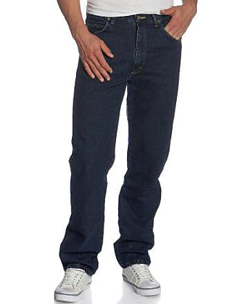 Wrangler Mens Big & Tall Rugged Wear Classic Fit Jean, Dark Wash Blue, 54W x 32L
