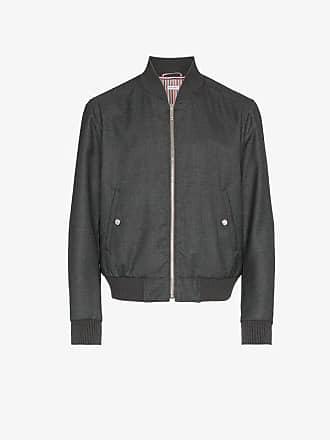 Thom Browne Center-Back Stripe Blouson Jacket