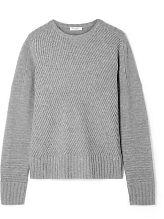 Equipment Abril Ribbed Wool And Cashmere-blend Sweater - Gray
