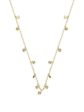 Gorjana Chloe Mini Long Necklace in Metallic Gold