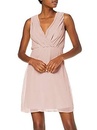 69e03c7cab Vila Clothes Vialli S/l Dress/DC Robe, Rose Smoke, 38 (