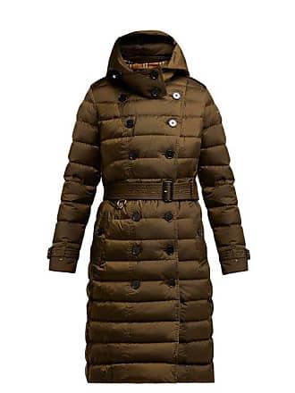 4b97284be364 Burberry Manteau matelassé à boutonnage simple Dalmerton