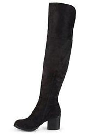 b27c74b0e03 Journee Collection Womens Sana Round Toe Wide Calf Boots -Black -Size 7.5