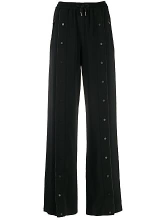 Karl Lagerfeld Calça com logo - Preto