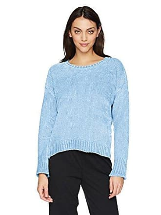 PJ Salvage Womens Chenille Cozy Sweater, Blue, S
