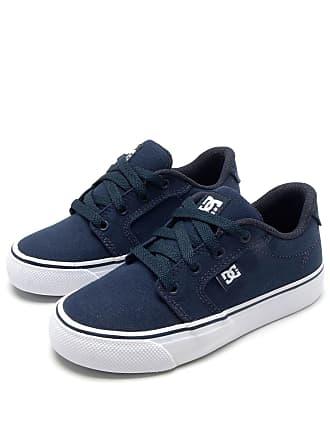 b7d8d4d6ac3b3 DC Tênis DC Shoes Menino Logo Azul Marinho