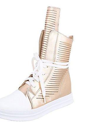 Ital-Design High-Top Sneaker Damen-Schuhe High-Top Keilabsatz Wedge e5661f4dc3