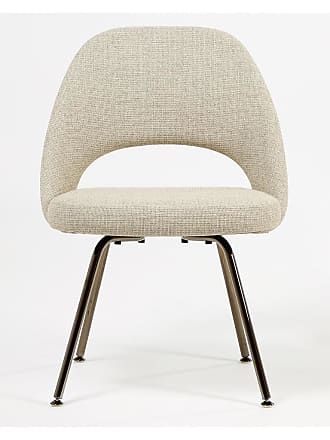 Knoll Exclusive Saarinen Conference Chair Black Chrome & Grey West Fabric
