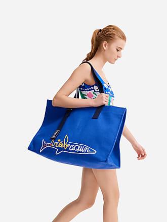 Vilebrequin Accessories - Beach bag Vilebrequin squale embroidered - Vilebrequin x JCC+ - Limited Edition - BEACH BAG - BAGJAC - Blue - OSFA - Vilebrequin