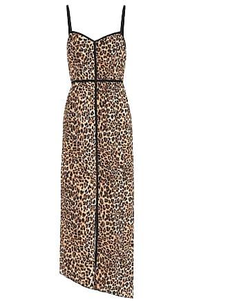 Nanushka Abir leopard-printed slip dress
