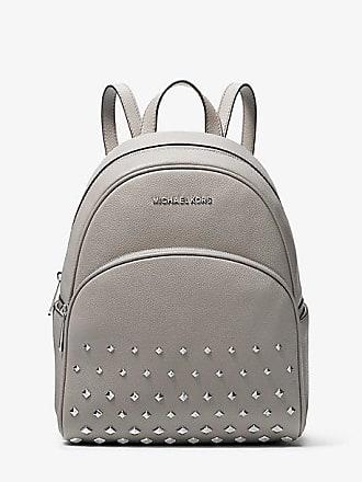 d099de4b8c29 Michael Kors Abbey Medium Studded Pebbled Leather Backpack