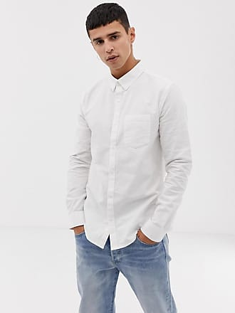 4aaf46d8 New Look oxford shirt in regular fit in white - White