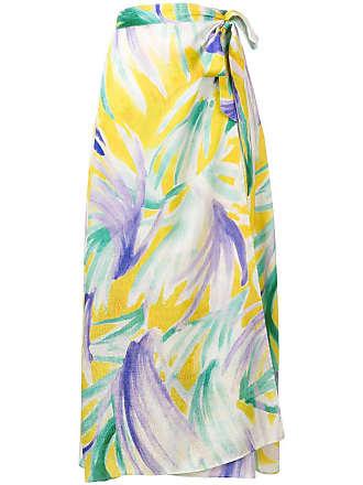 Forte_Forte sarong-style skirt - Yellow