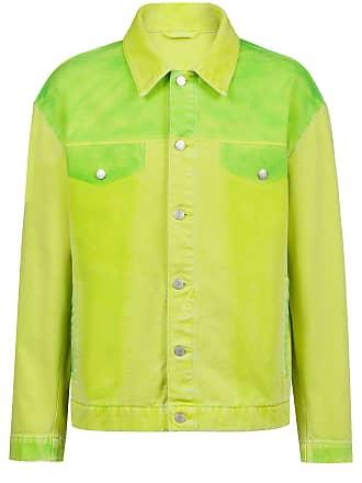 56efa8e0 HUGO BOSS Oversized-fit jacket in overdyed denim
