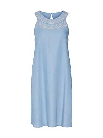 Esprit kleid blau mit gurtel
