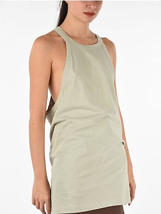 Rick Owens crew-neck tank top OYSTER size 38
