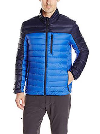 ZeroXposur Mens Relay Packable Sweater Down, Royal, XL