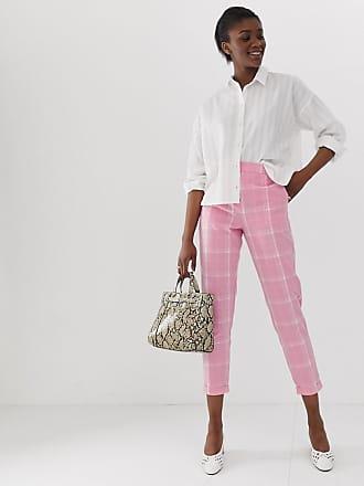 Vero Moda bright check pants - Multi