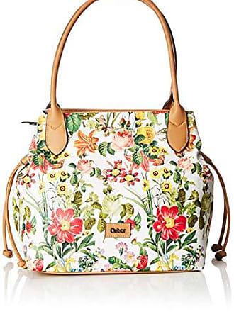 632d002372 Gabor Granada Bloom - Borse a spalla Donna, Bianco (Weiß), 43x28x17.