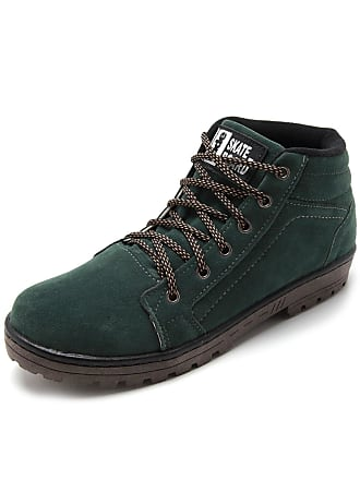 Ride Skateboard Bota Ride Skateboard Pespontos Verde